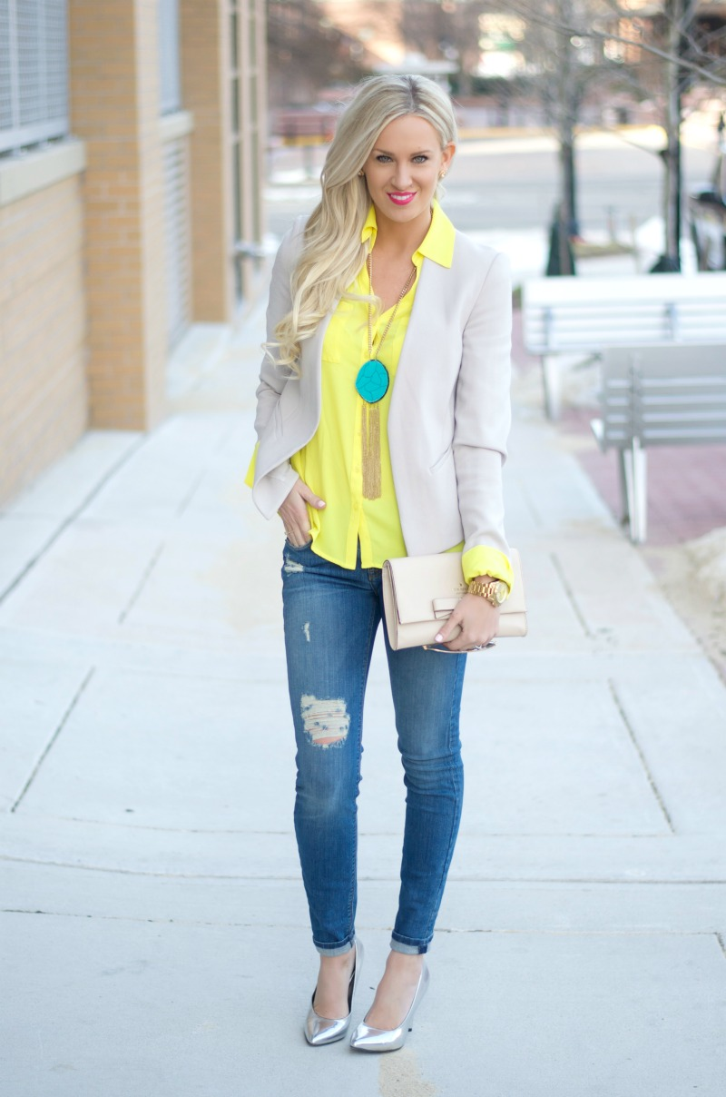 Neutral Yellow Pop Mckenna Bleu