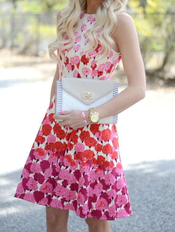 Floral Dress + A Giveaway