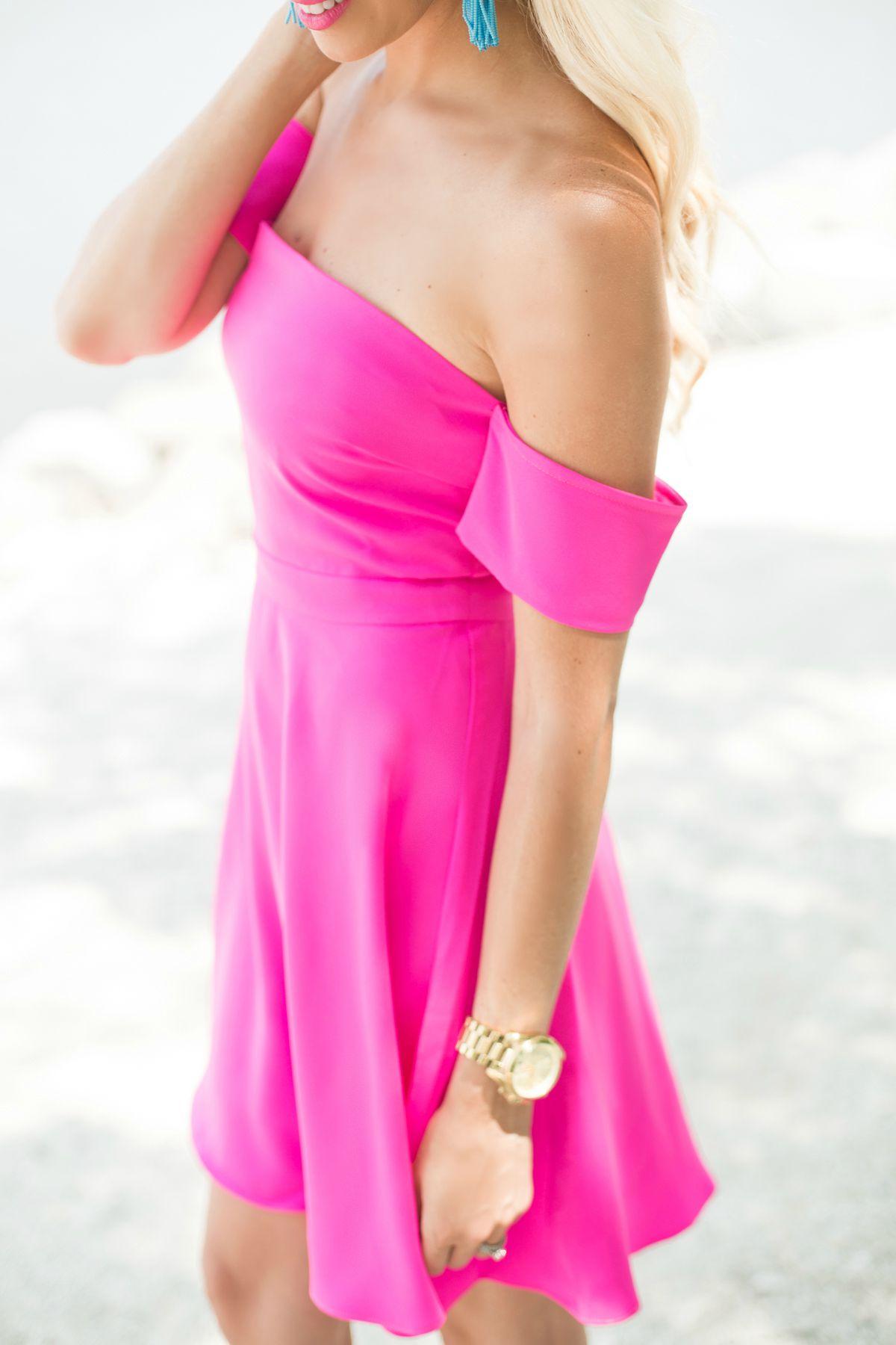 Pink Summer Dress Mckenna Bleu