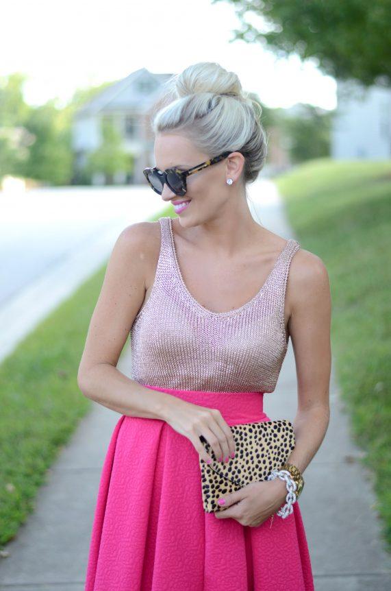 Rose Gold + Pink