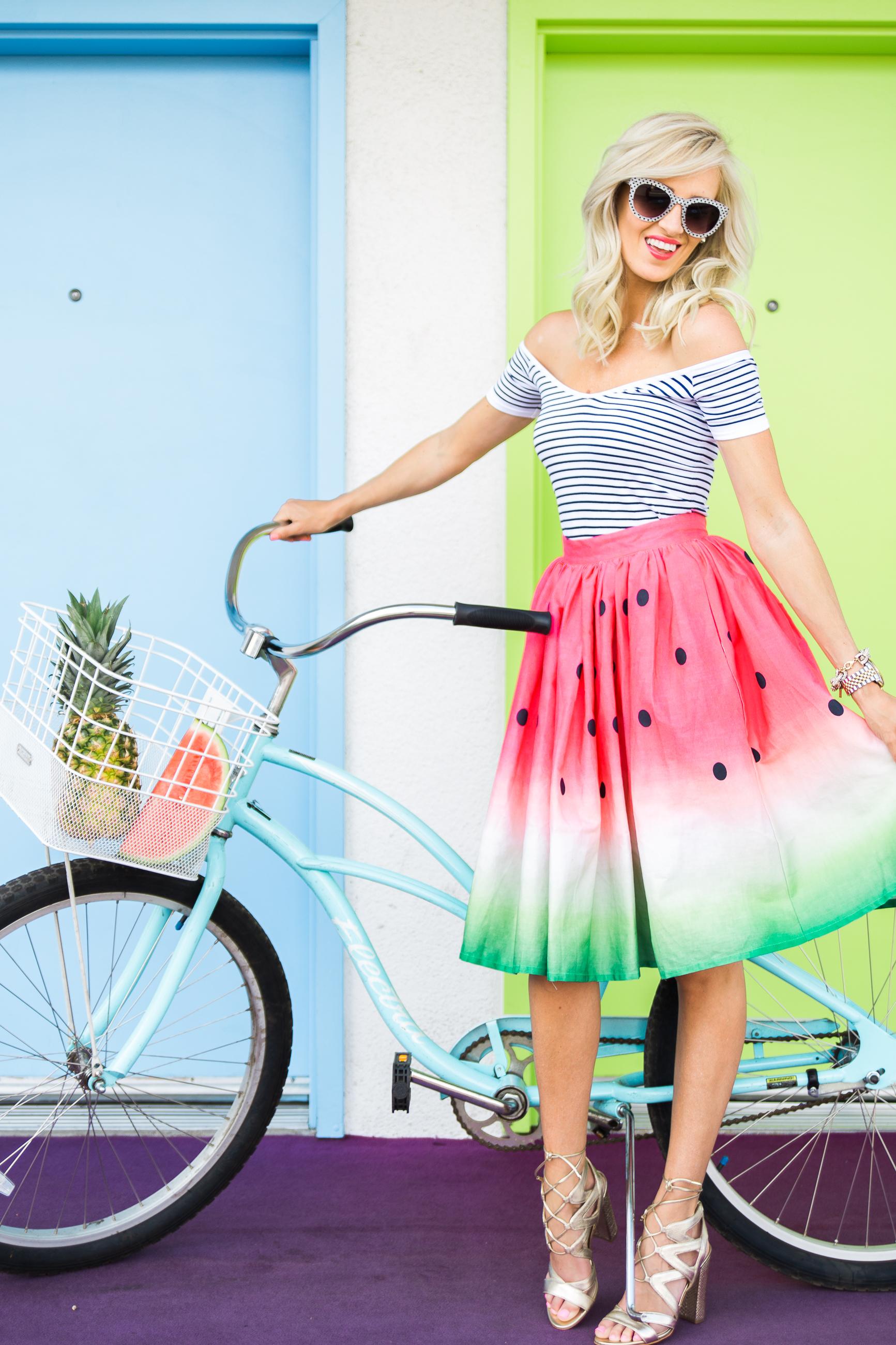 Watermelon Skirt Mckenna Bleu