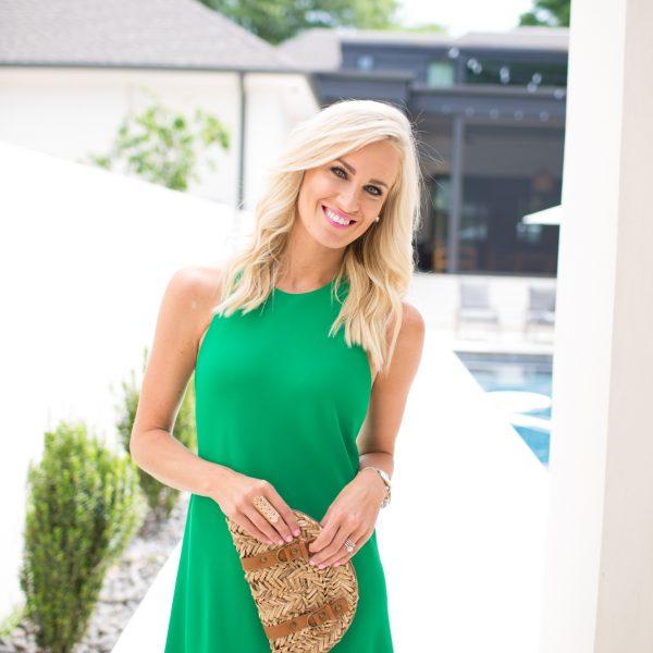 Kelly Green Sundress