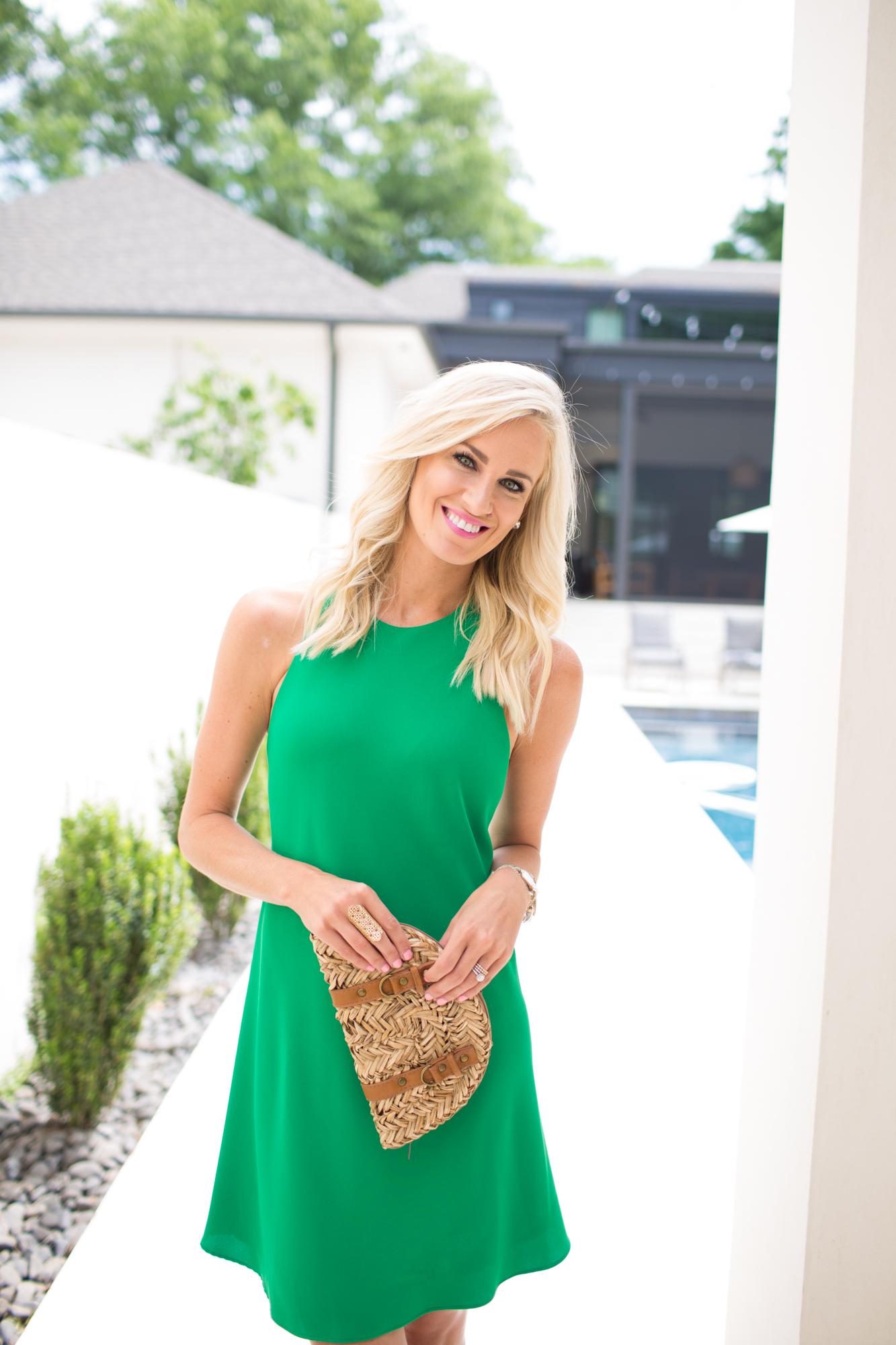 Kelly Green Sundress - Mckenna Bleu