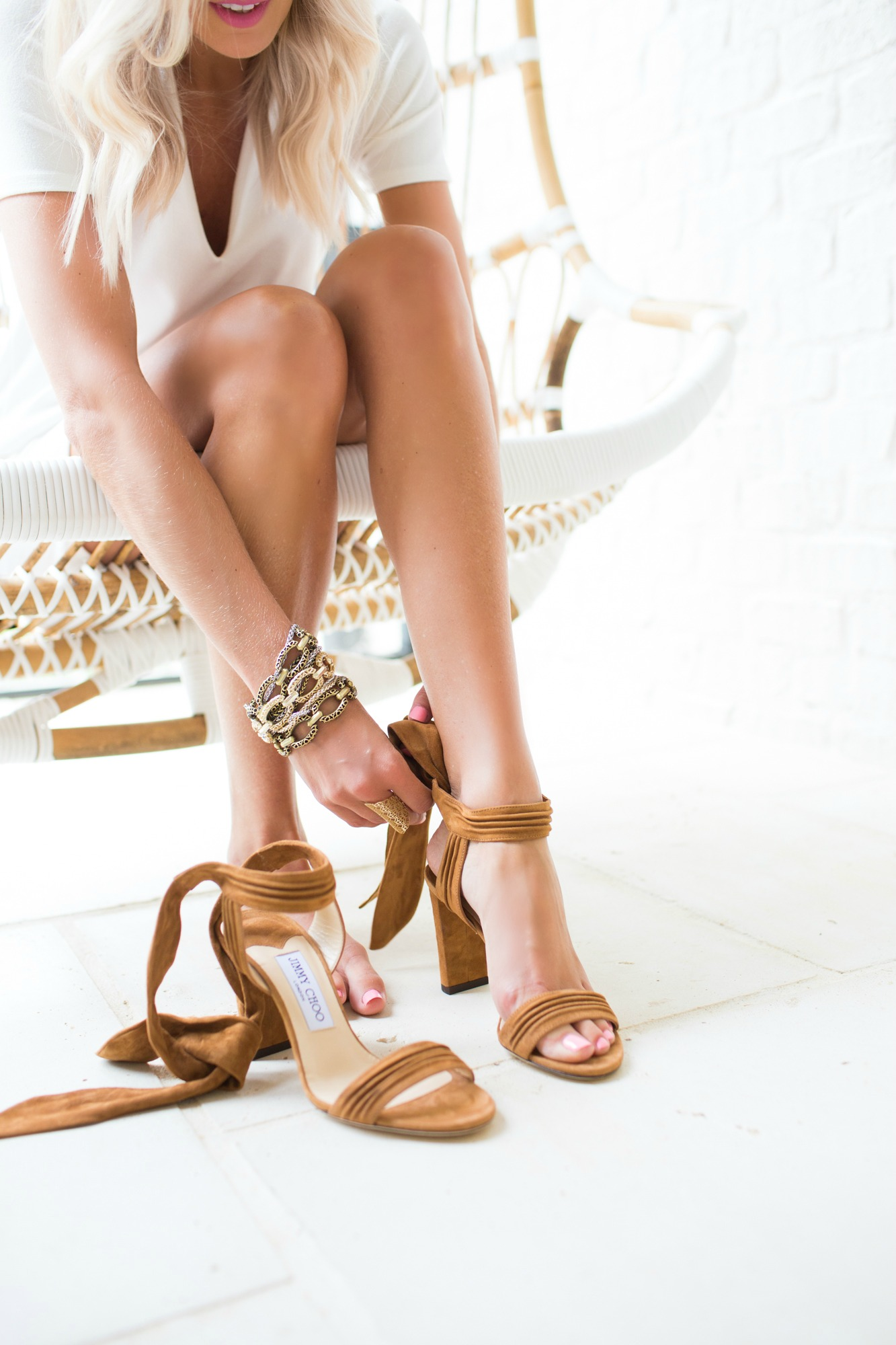 Jimmy Choo Pre-Fall Collection at Saks Fifth Avenue