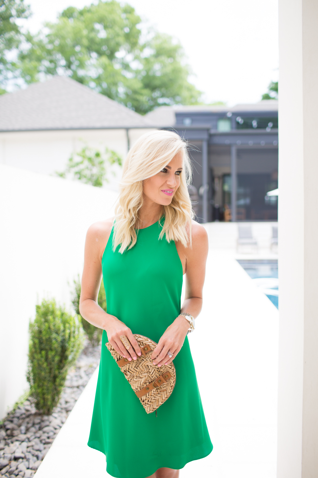 Kelly Green Sundress Mckenna Bleu