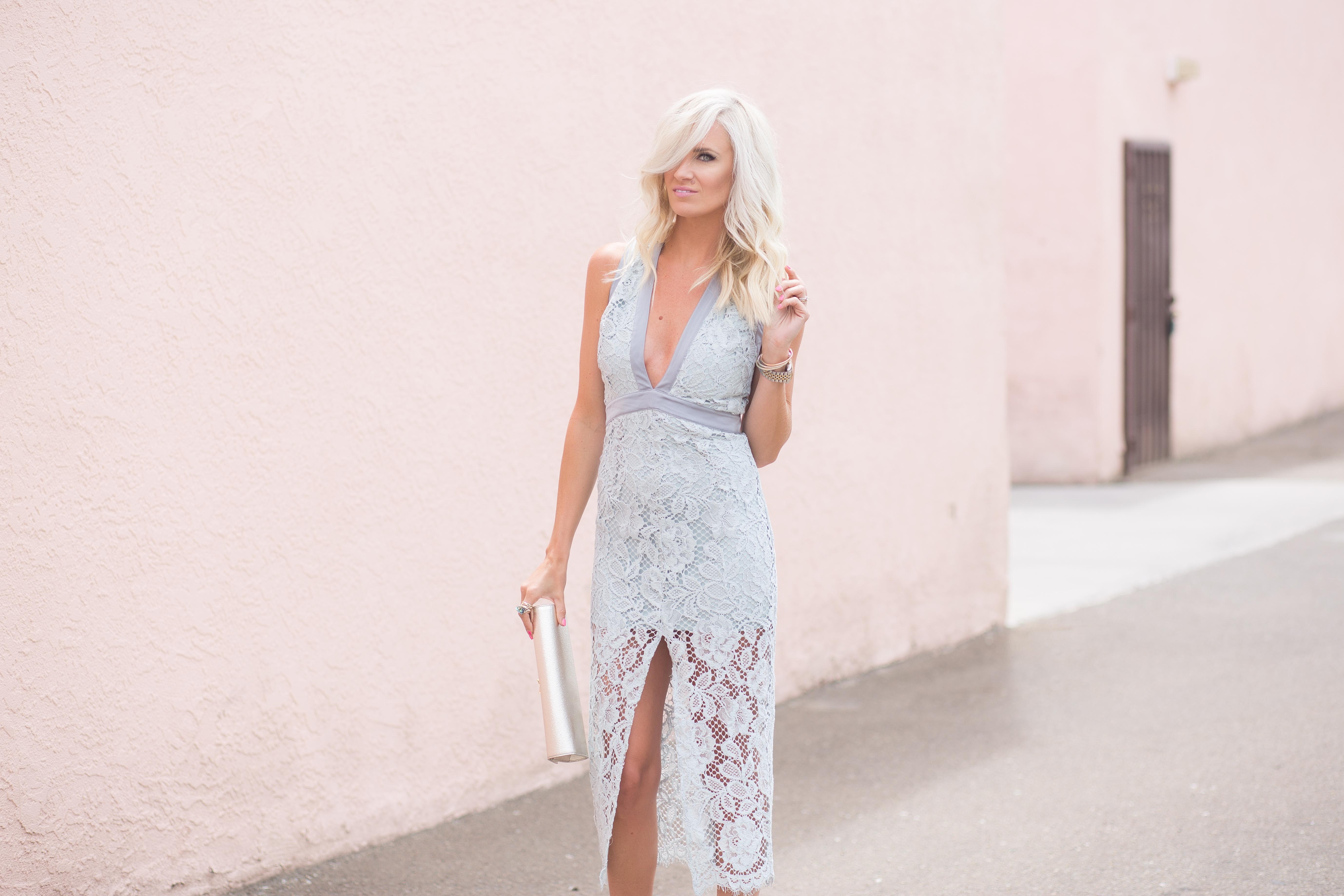 Cocktail Attire : Lace Dress - Mckenna Bleu