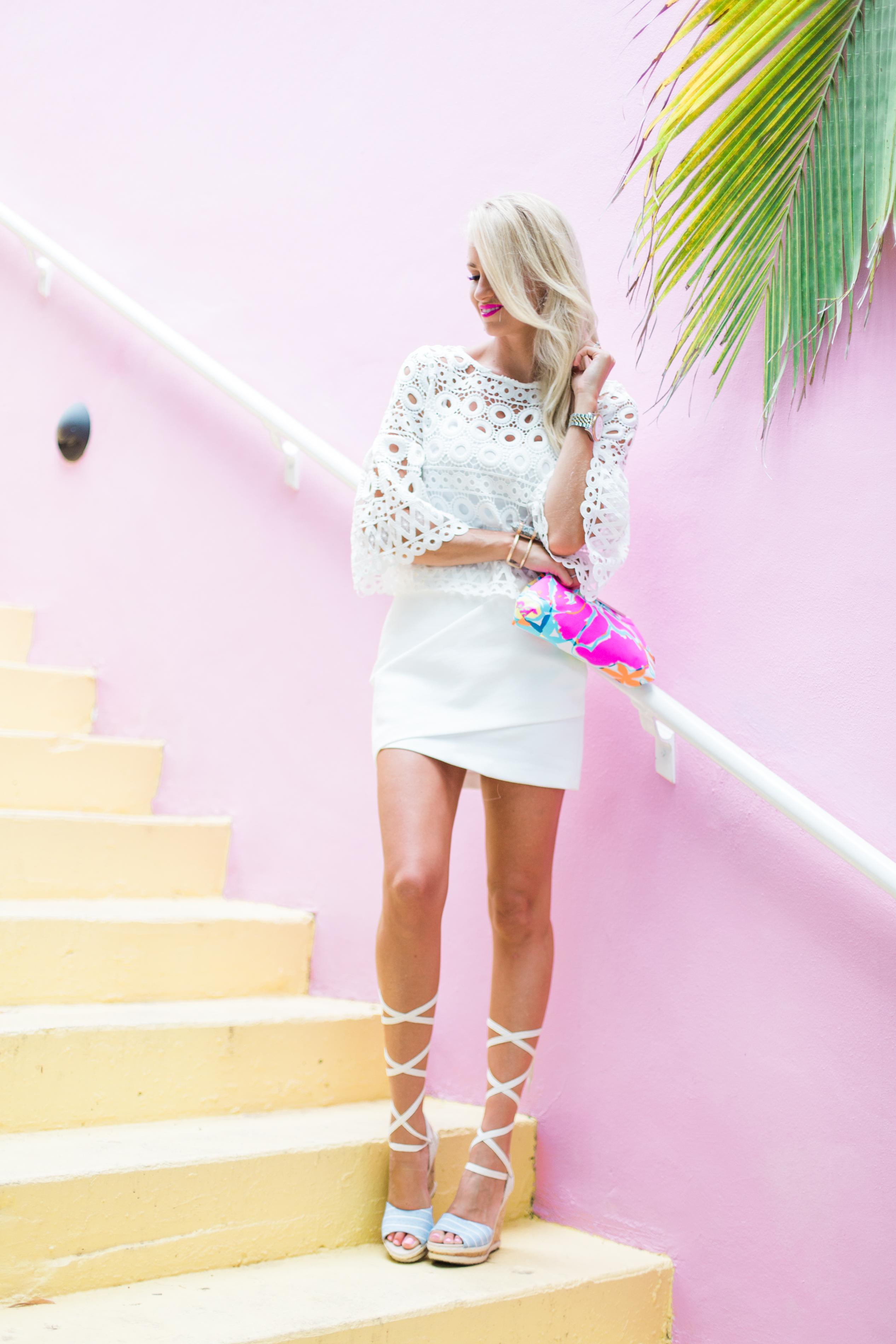 All White Last Of Summer Look Mckenna Bleu