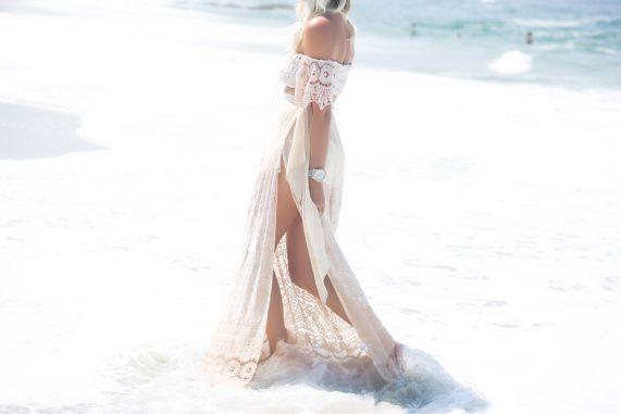 Lovely in Lace- Sky Swimwear