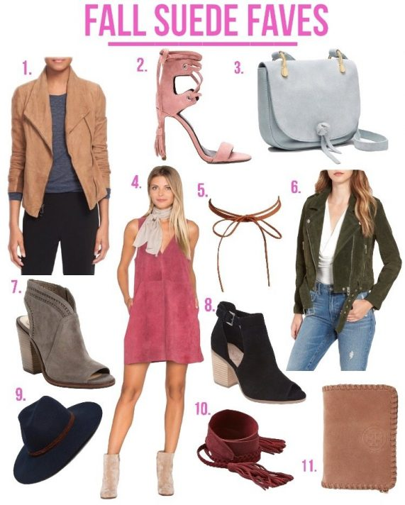 Fall Suede Faves!