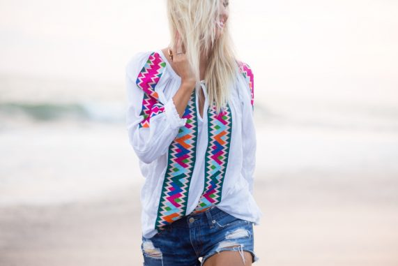 Colorful Tunic + One Dreamy Mexico Sunset
