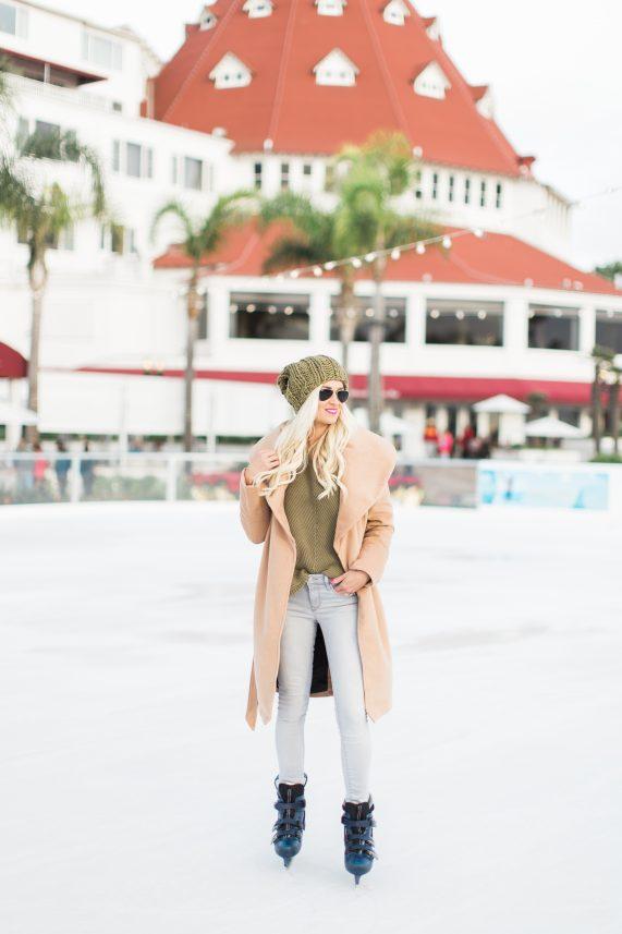 Ice Skating in Coronado