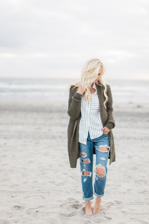 Winter Beach Style In Southern California Mckenna Bleu