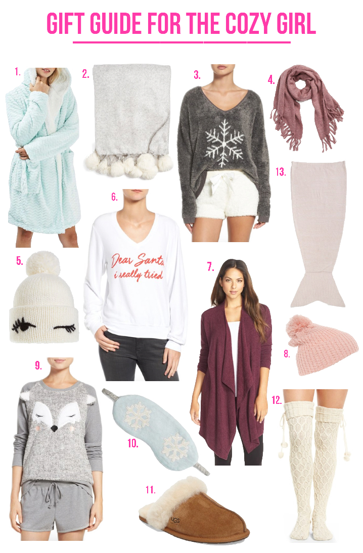 Gift Guide For The Cozy Girl