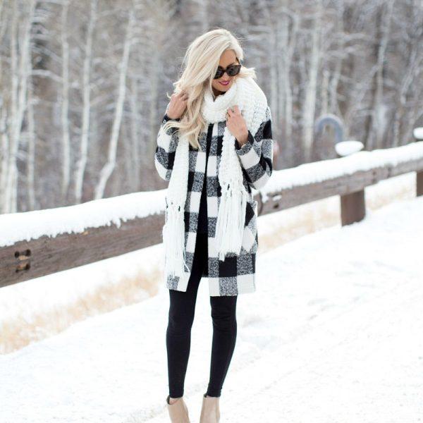 Plaid Jacket + The Best Leggings for Winter