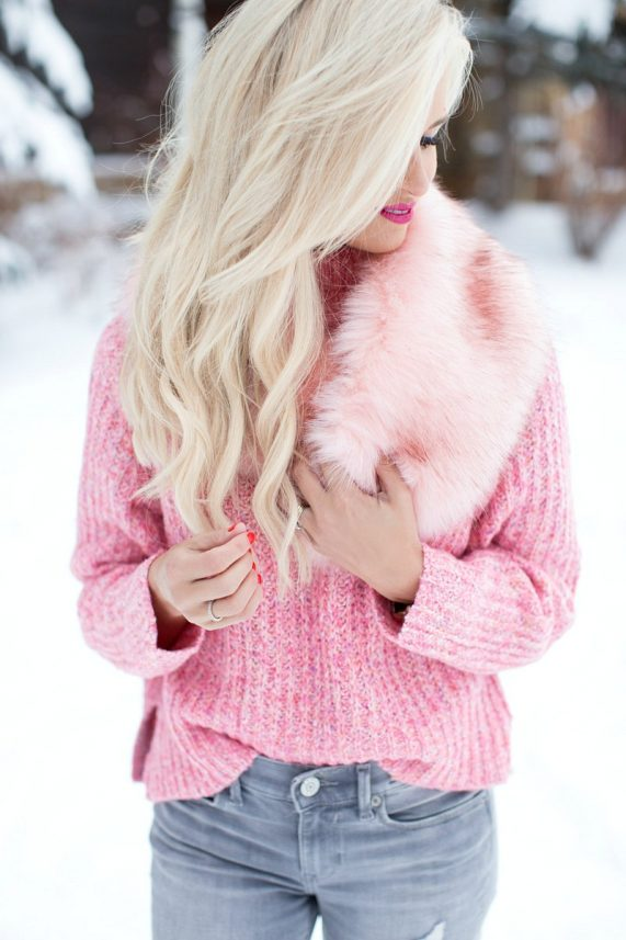 Winter Style in Pink