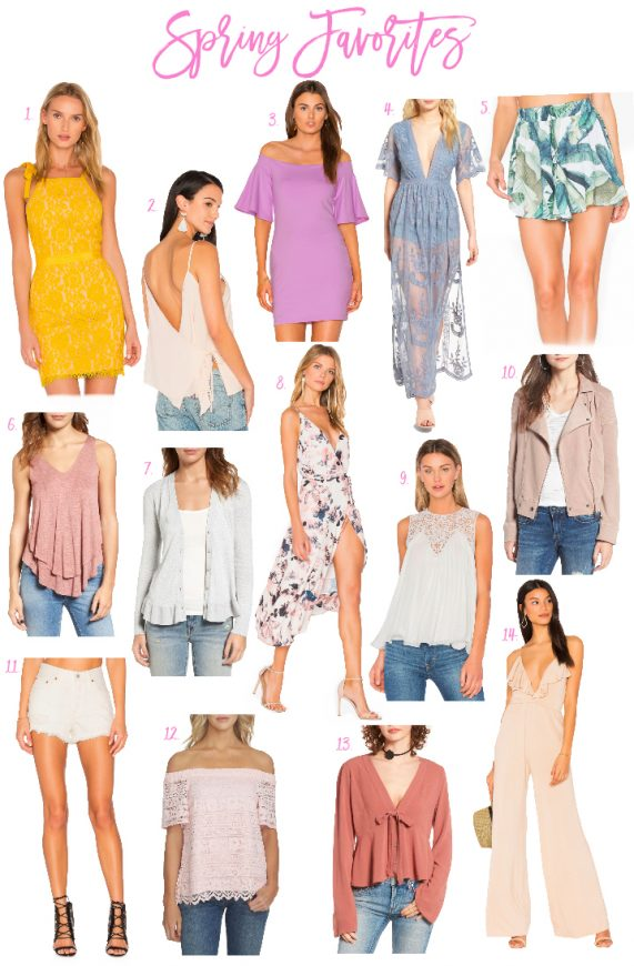 Favorites – Spring Clothes