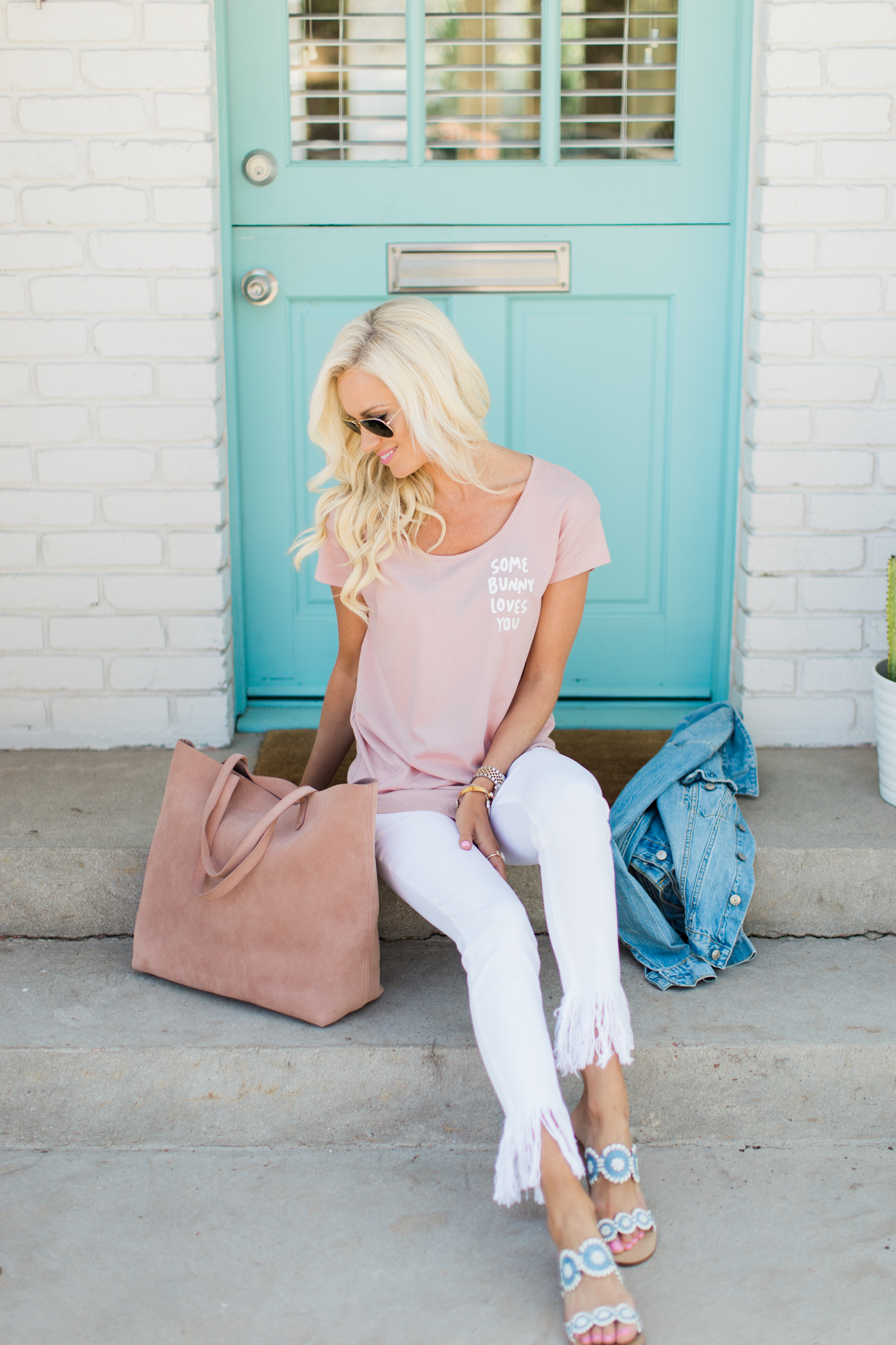 Casual Easter Outfit - McKenna Bleu