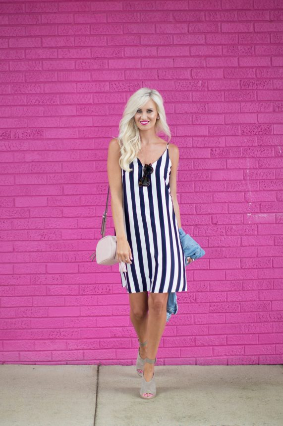 The Perfect Summer Striped Dress