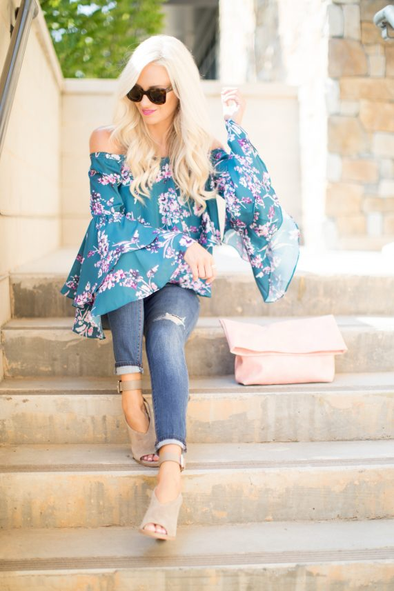 Floral Top for Fall