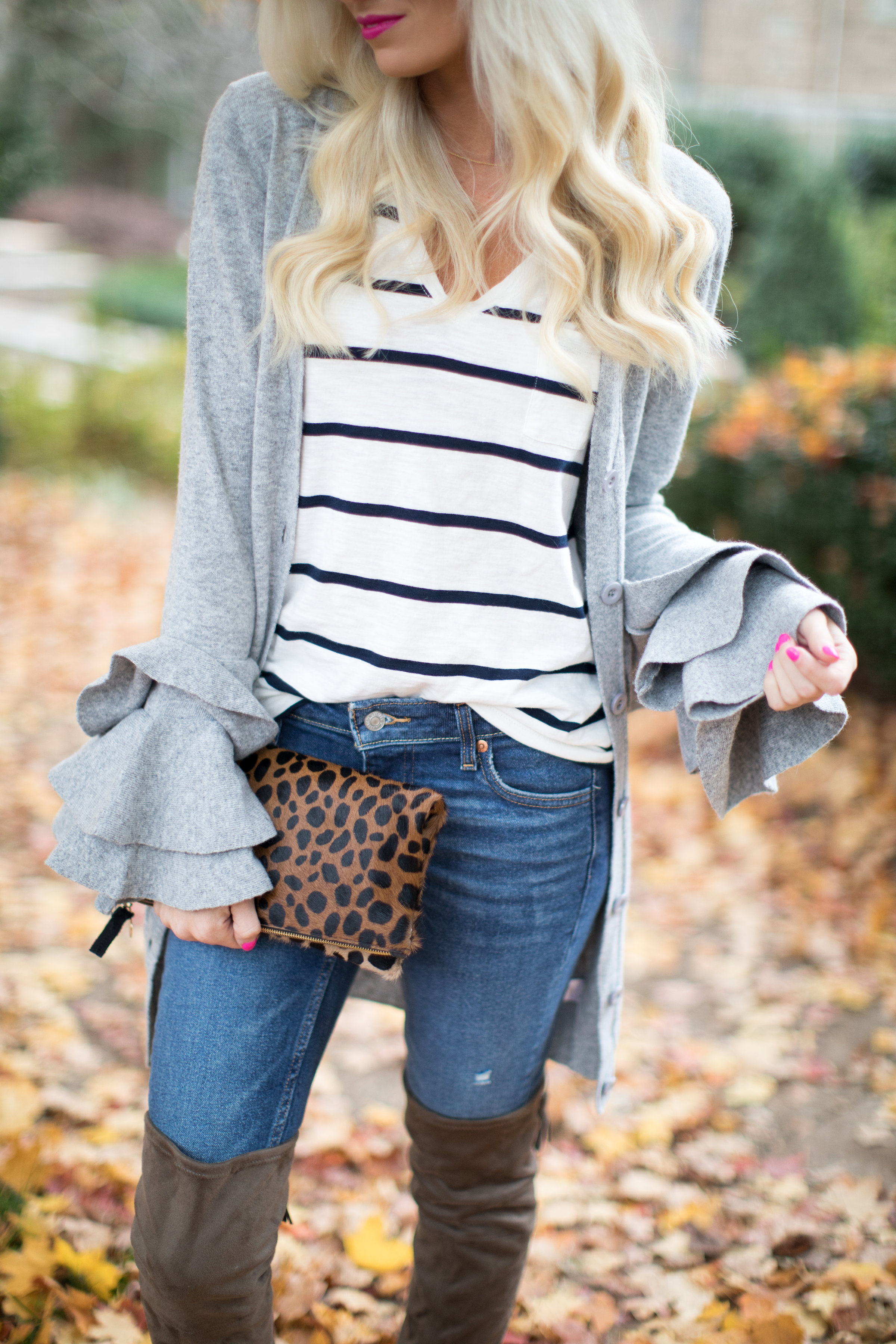 Ruffled Sweater